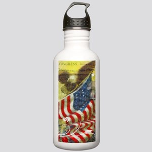 Vintage patriotic them Stainless Water Bottle 1.0L