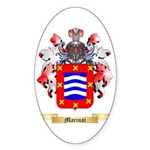 Marinai Sticker (Oval 50 pk)