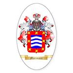Marinacci Sticker (Oval 10 pk)