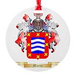 Marin Round Ornament