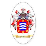 Marin Sticker (Oval 50 pk)