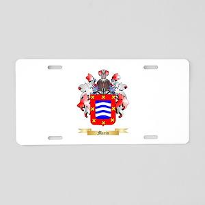 Marin Aluminum License Plate