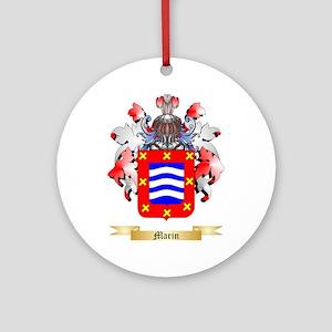 Marin Ornament (Round)