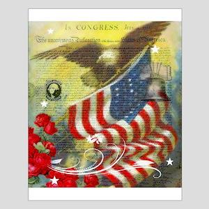 Vintage patriotic theme Posters