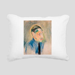 Stravinsky Rectangular Canvas Pillow