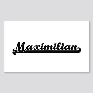 Maximilian Classic Retro Name Design Sticker