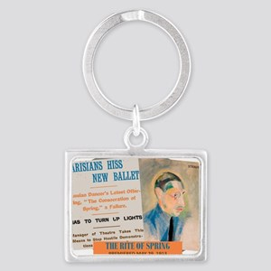 The Rite of Spring Keychains