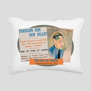 The Rite of Spring Rectangular Canvas Pillow