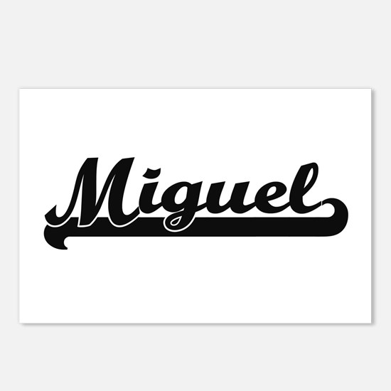 Miguel Classic Retro Name Postcards (Package of 8)