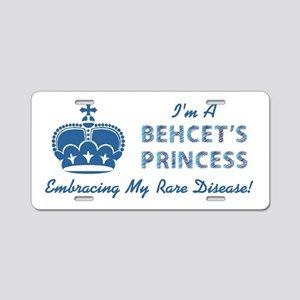 BEHCETS PRINCESS Aluminum License Plate