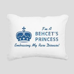 BEHCETS PRINCESS Rectangular Canvas Pillow