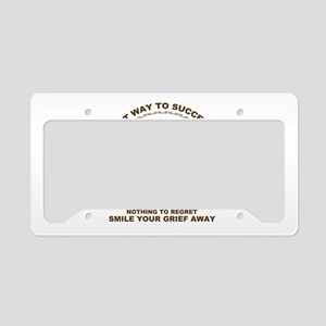 Ping pong License Plate Holder