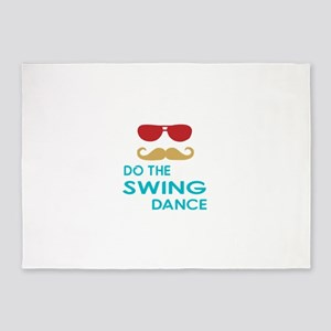 Do The Swing Dance 5'x7'Area Rug