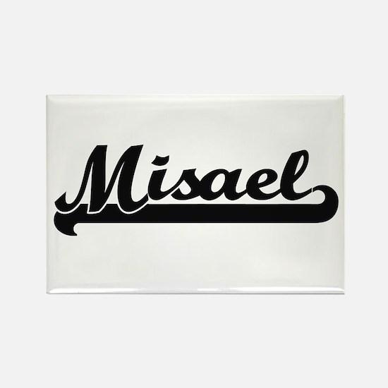 Misael Classic Retro Name Design Magnets