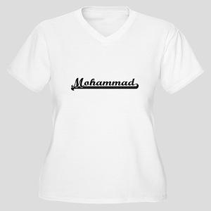 Mohammad Classic Retro Name Desi Plus Size T-Shirt