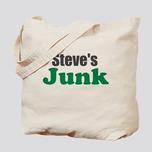 Steves Junk (Put Your Name) Tote Bag