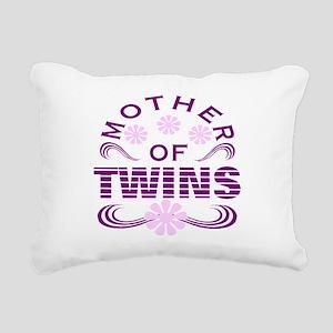 Twins mom Rectangular Canvas Pillow