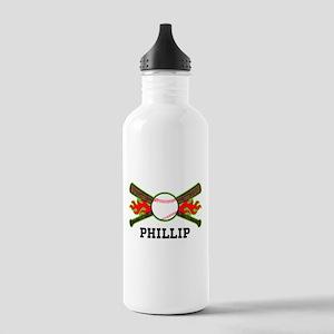 Baseball (p) Water Bottle
