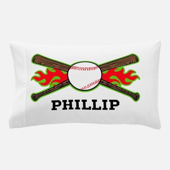 Baseball (p) Pillow Case