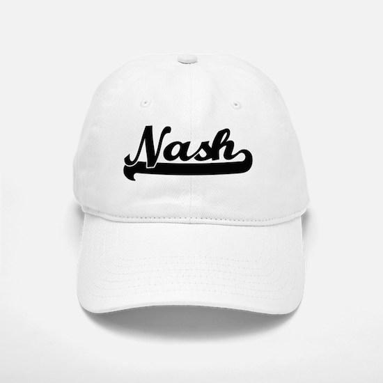 Nash Classic Retro Name Design Baseball Baseball Cap