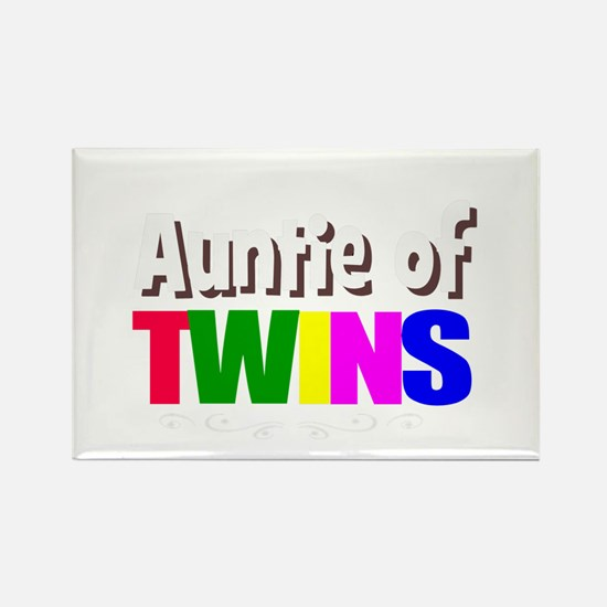 auntie twins Magnets