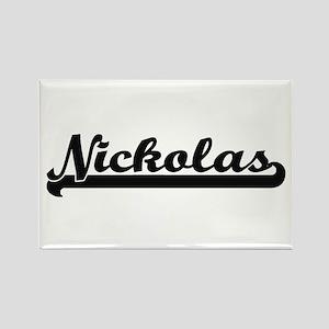 Nickolas Classic Retro Name Design Magnets