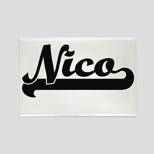 Nico Classic Retro Name Design Magnets