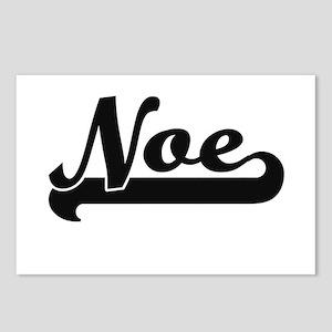 Noe Classic Retro Name De Postcards (Package of 8)