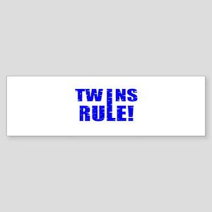 boss twins Bumper Sticker