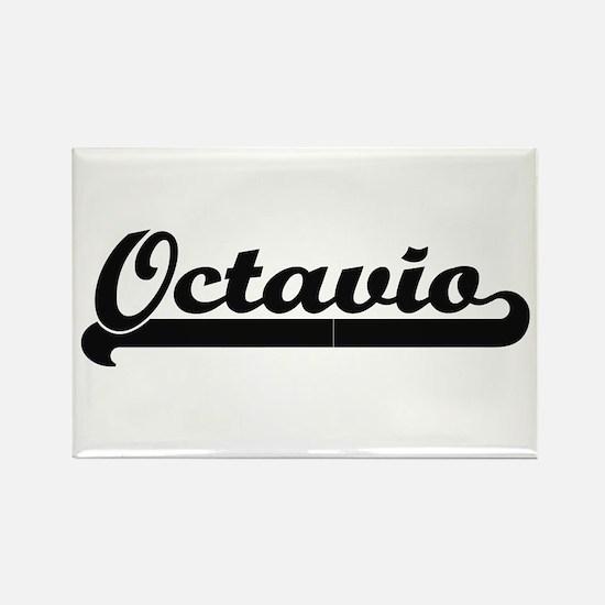 Octavio Classic Retro Name Design Magnets