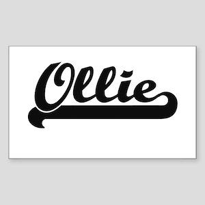 Ollie Classic Retro Name Design Sticker