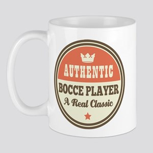 Bocce Player Funny Vintage Mug
