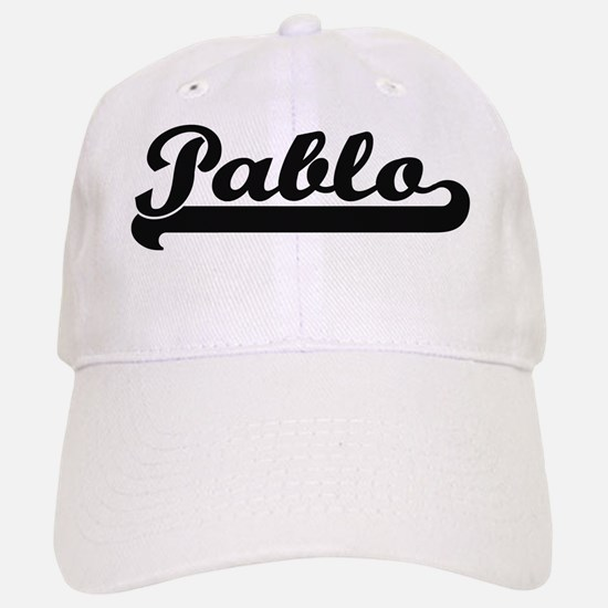 Pablo Classic Retro Name Design Baseball Baseball Cap