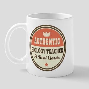 Biology Teacher Funny Vintage Mug