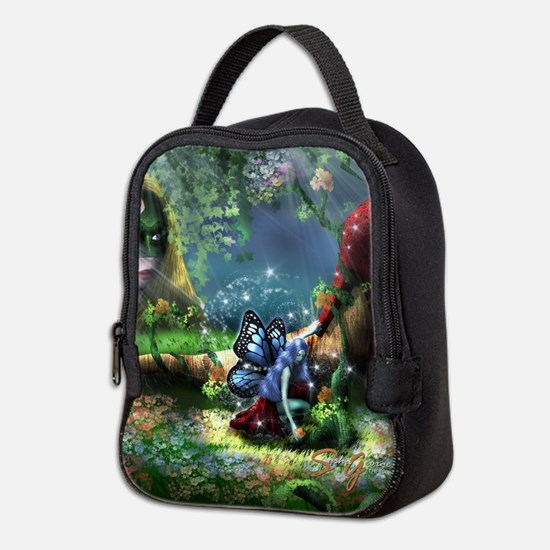Unique Fairy Neoprene Lunch Bag