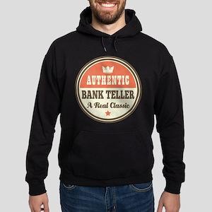 Bank Teller Funny Vintage Hoodie (dark)