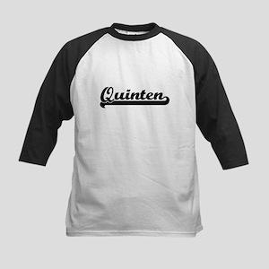 Quinten Classic Retro Name Design Baseball Jersey