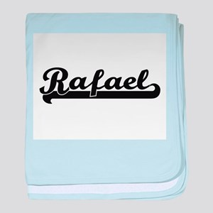 Rafael Classic Retro Name Design baby blanket