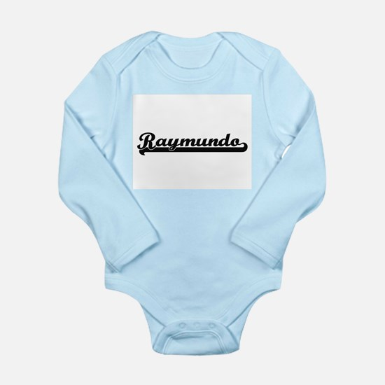 Raymundo Classic Retro Name Design Body Suit
