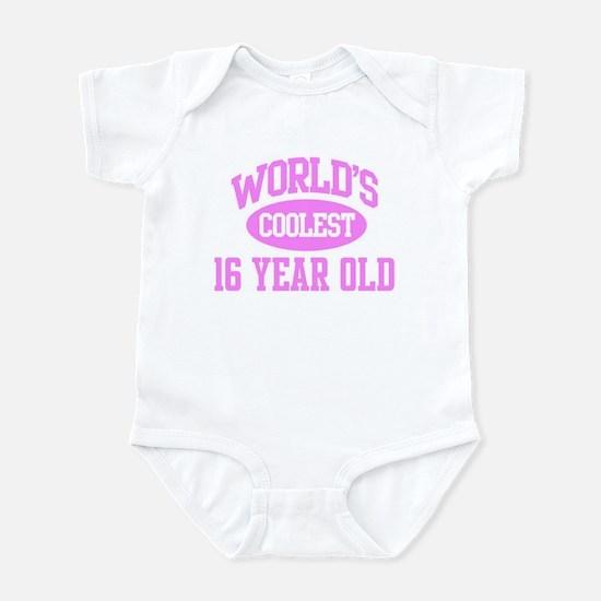 Coolest 16 Year Old Infant Bodysuit
