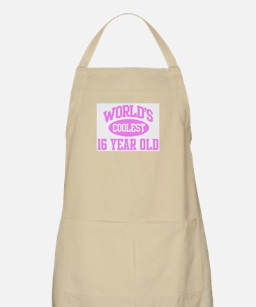 Coolest 16 Year Old BBQ Apron