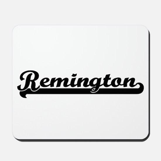 Remington Classic Retro Name Design Mousepad