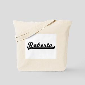 Roberto Classic Retro Name Design Tote Bag