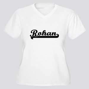 Rohan Classic Retro Name Design Plus Size T-Shirt