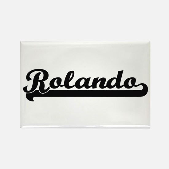 Rolando Classic Retro Name Design Magnets