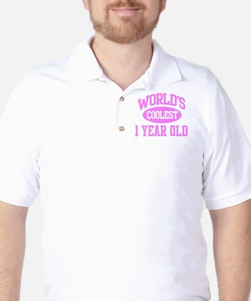 Coolest 1 Year Old Golf Shirt