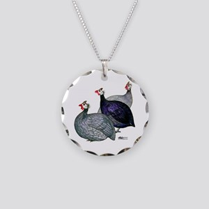 Guineas Three Necklace Circle Charm