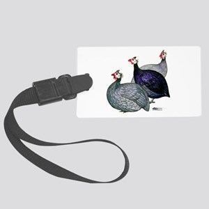 Guineas Three Large Luggage Tag