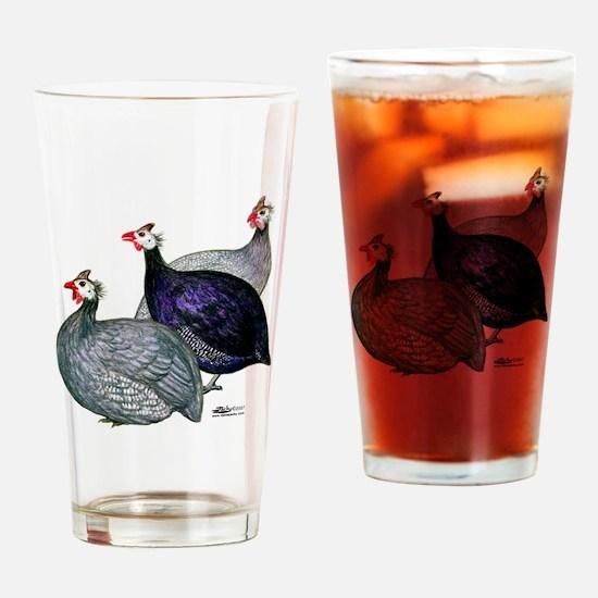 Guineas Three Drinking Glass