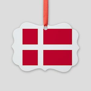 Flag of Denmark Ornament